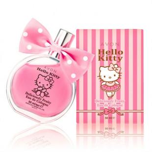 Детская туалетная вода Avon Hello Kitty, 50 мл