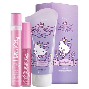 Детский косметический набор Avon Hello Kitty