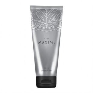 Шампунь-гель для душа для мужчин Avon Maxime, 200 мл