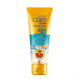Солнцезащитный крем для детской кожи SPF 50, 120 мл