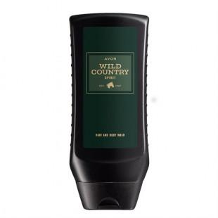 Шампунь-гель для душа Wild Country Spirit для него, 250 мл