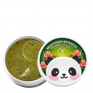 Гидрогелевые патчи для глаз с зеленым чаем и экстрактом пиона